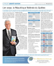 Guy Bertrand's original ad in Le Soleil 18 March 2015