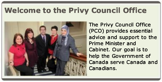 Islam in Canada's Privy Council Office (14 August 2014)